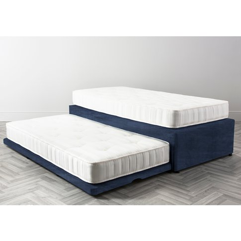 Slumber Pull Out Guest Bed In Blue Lavender