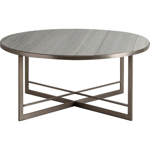 Oxendan Silver Marble Coffee Table
