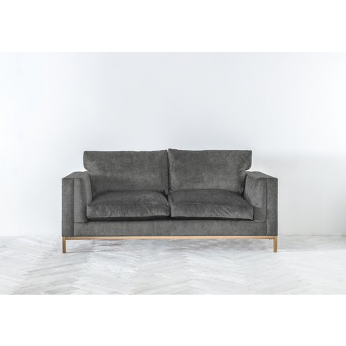 Jamie Three-Seater Sofa In Direwolf Grey