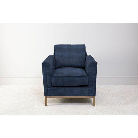 Jamie Armchair In Blue Lavender