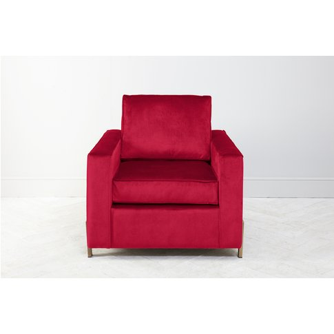 George Armchair In Royal Mail