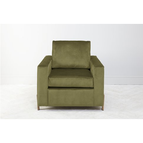 George Armchair In Olive You Too