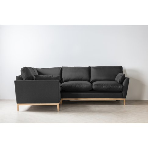 Nora Left Hand Chaise Sofa Bed In Hurricane