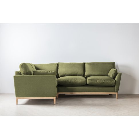 Nora Left Hand Chaise Sofa Bed In Plantain Cocktail
