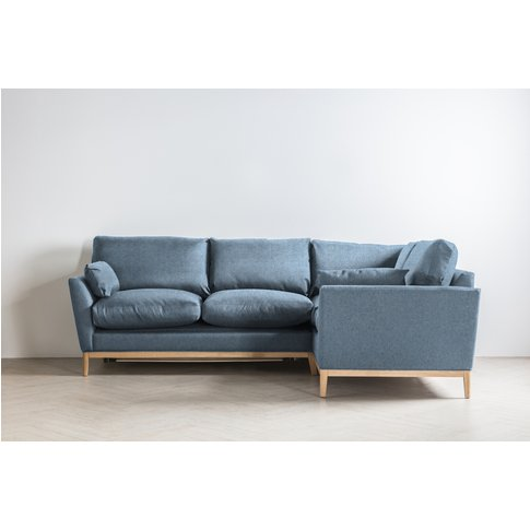 Nora Right Hand Chaise Sofa Bed In Cornish Morning