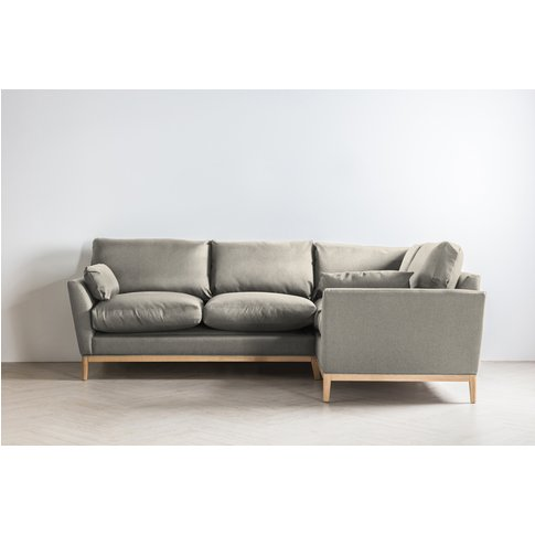 Nora Right Hand Chaise Sofa Bed In Dover Cliffs