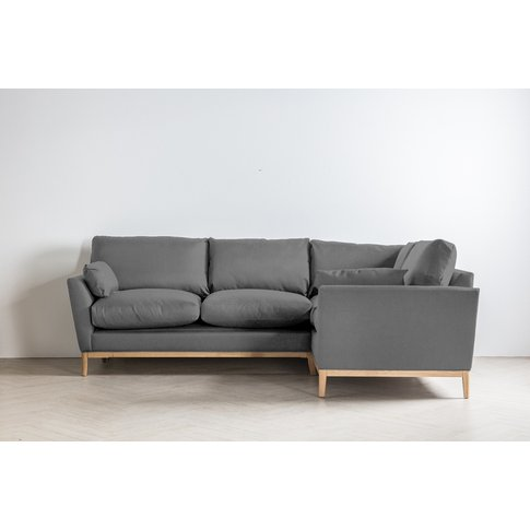Nora Right Hand Chaise Sofa Bed In Proper Grey