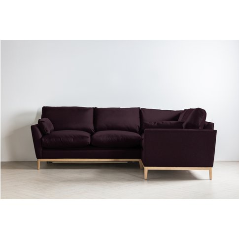 Nora Right Hand Chaise Sofa Bed In Sloe Lane