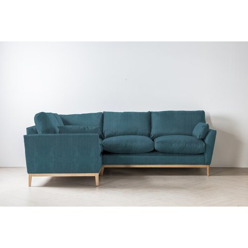 Nora Right Hand Chaise Sofa Bed In Viridian