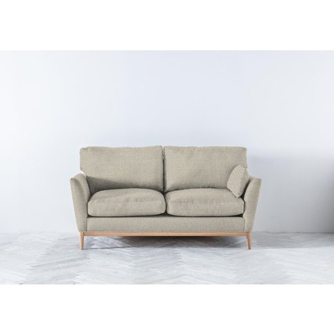 Nora Three-Seater Sofa In Bone Grey