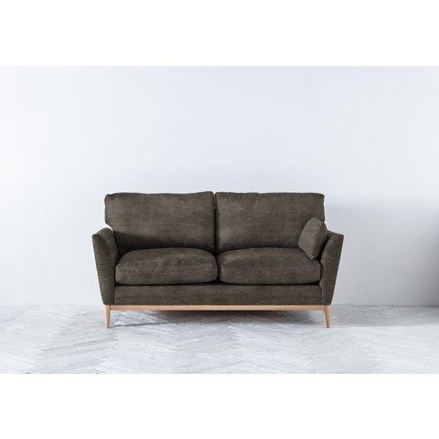 Nora Three-Seater Sofa In Chestnut