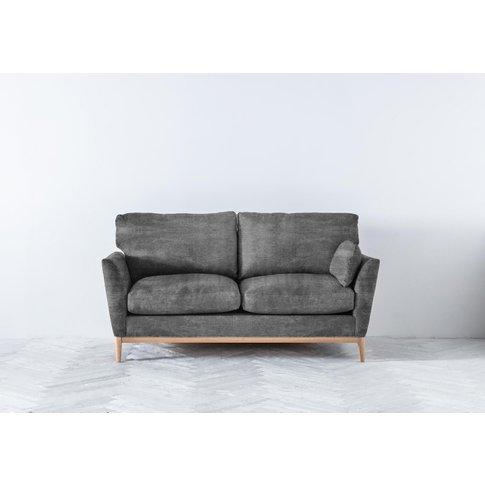Nora Three-Seater Sofa In Cloudy Grey