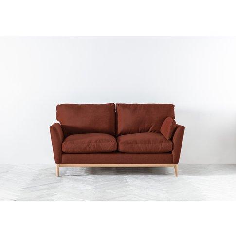 Nora Three-Seater Sofa In Brick Dust