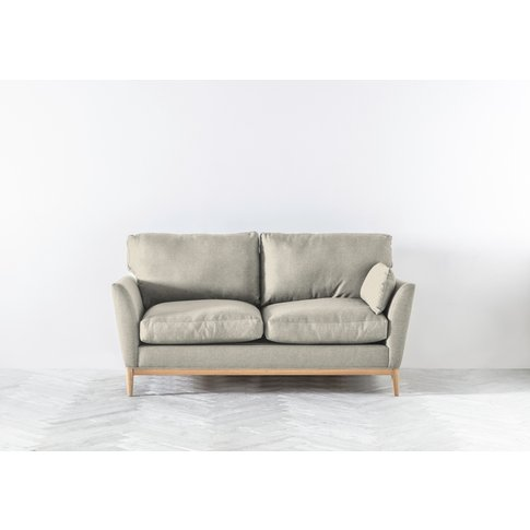Nora Three-Seater Sofa In Dover Cliffs