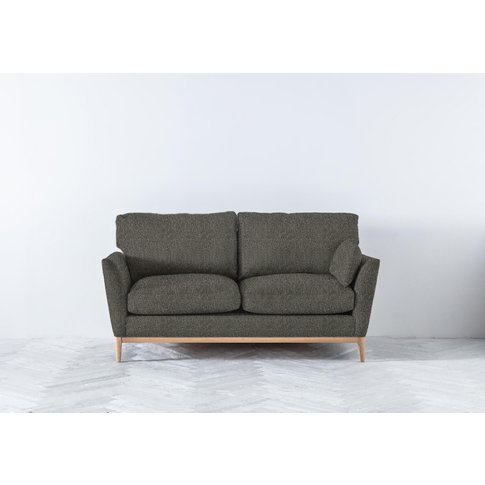 Nora Three-Seater Sofa In Oil Spill