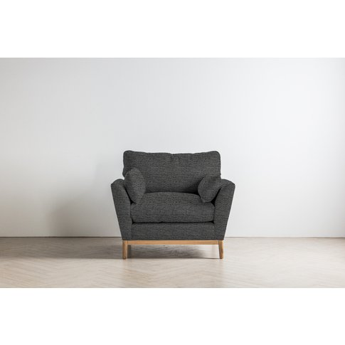 Nora Armchair In Hola Black