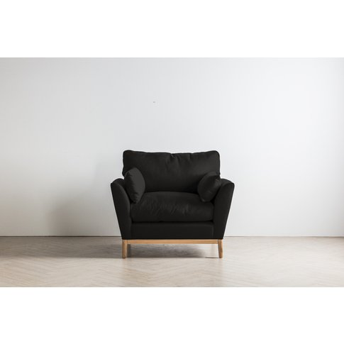 Nora Armchair In Obsidian Black