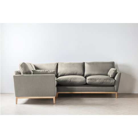 Nora Left Hand Chaise Sofa In Dover Cliffs