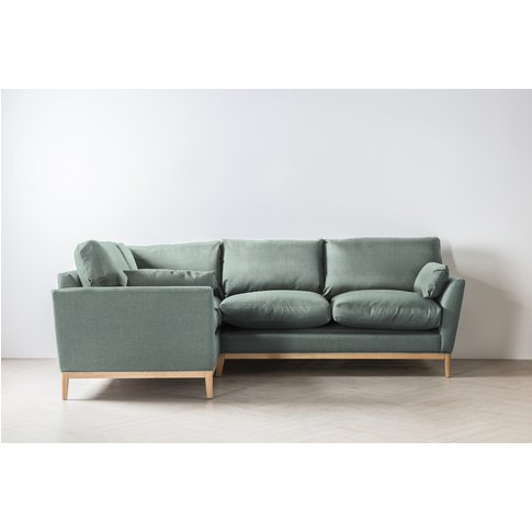 Nora Left Hand Chaise Sofa In Mineral Fresh