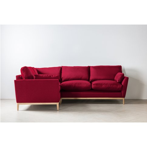 Nora Left Hand Chaise Sofa In Royal Mail
