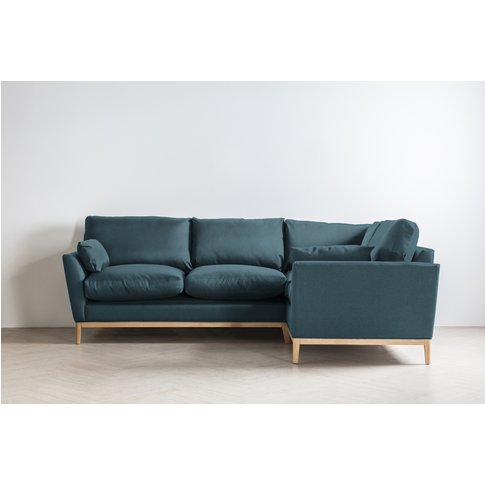Nora Right Hand Chaise Sofa In High Tea
