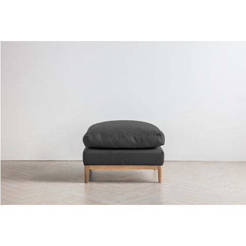 Nora Footstool In Hurricane