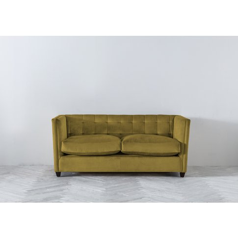 Lia Three-Seater Sofa In Sunshine On Rye