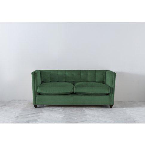 Lia Three-Seater Sofa In Hunter Green
