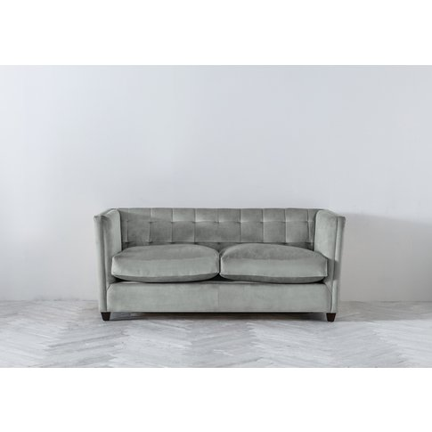Lia Three-Seater Sofa In Whitebait