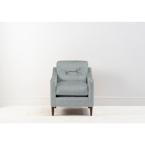 Nathan Armchair In Airforce Blue
