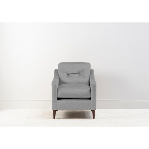 Nathan Armchair In Silver Spoon