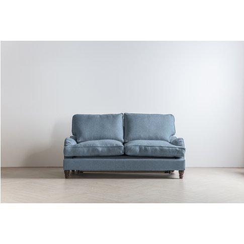 Robyn Three-Seater Sofa Bed In Cornish Morning