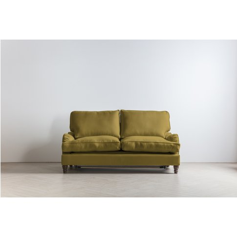 Robyn Three-Seater Sofa Bed In Sunshine On Rye