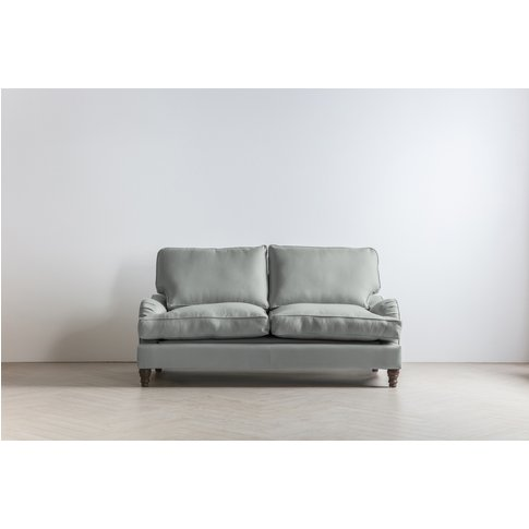 Robyn Three-Seater Sofa In Whitebait