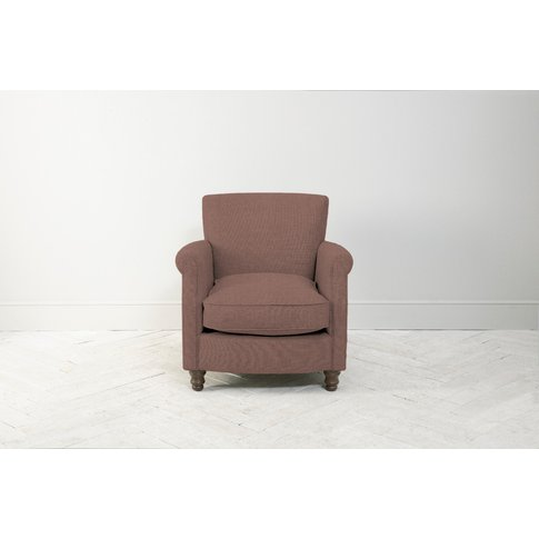 Robyn Armchair In Dark Grape