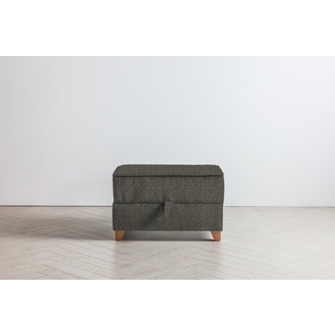 Ethan Storage Ottoman In Oil Spill