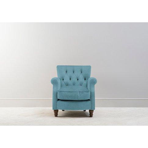 Algernon Armchair In Tide Turning