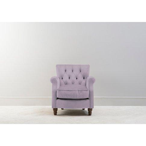 Algernon Armchair In Grace Kelly