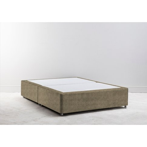 Buxton 3' Single Size Bed Base In Limestone