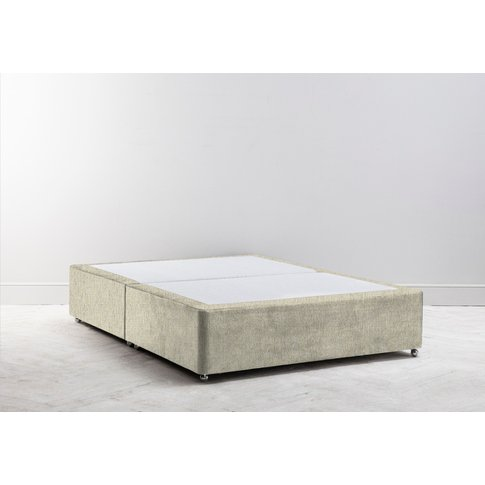 Buxton 3' Single Size Bed Base In Oatmeal