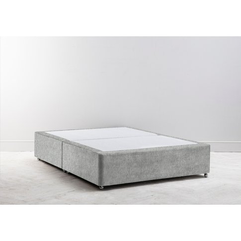 Buxton 3' Single Size Bed Base In The Great White