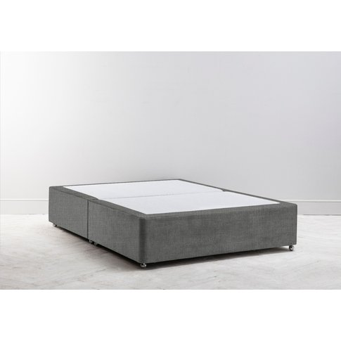 Buxton 4'6'' Double Size Bed Base In Platypus Bay