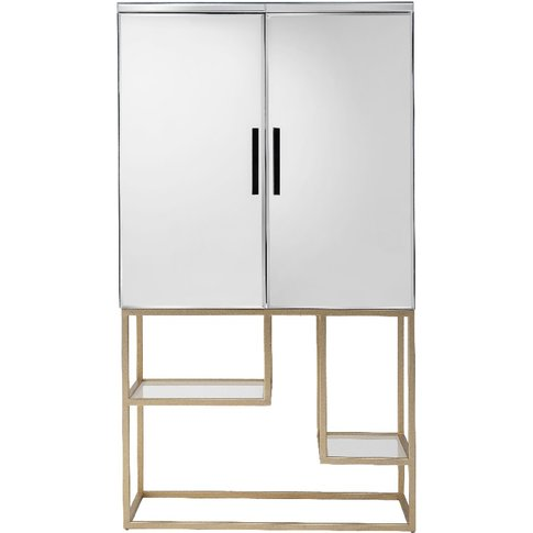 Damsay Drinks Cabinet In Champagne
