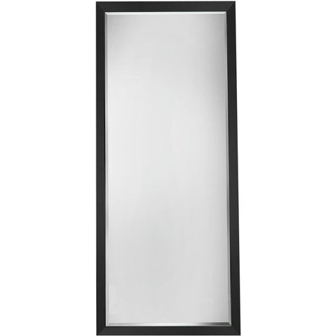 Skylar Standing Mirror In Black