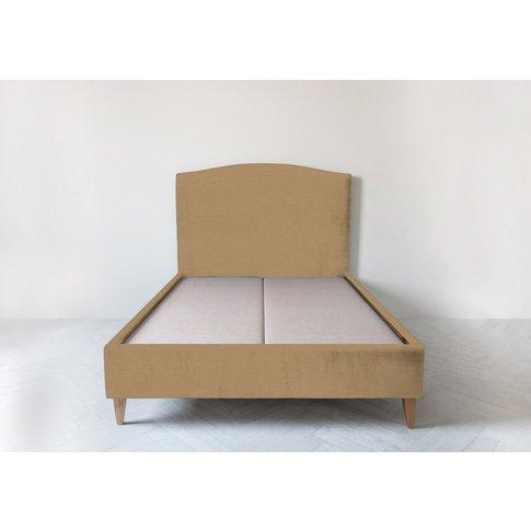 "Astor 4'6 Double Size Bed Frame In Ginger Tea"""