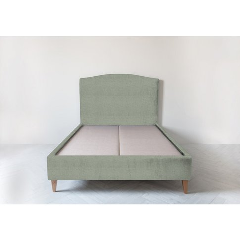 """Astor 4'6 Double Size Bed Frame In Peppermint"""""""