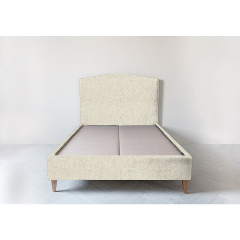 Astor 5' King Size Bed Frame In Abalone Beige