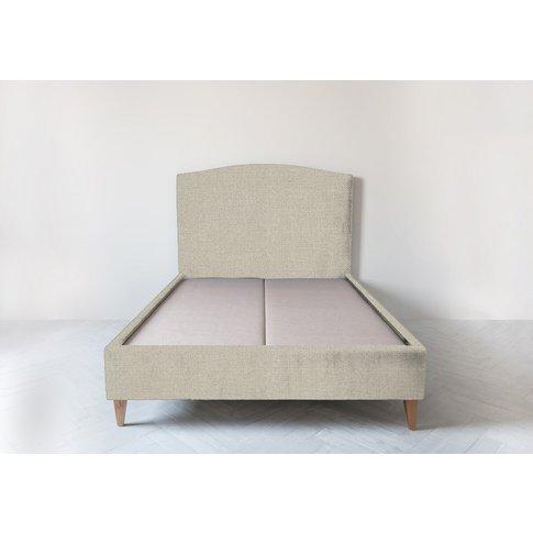 Astor 5' King Size Bed Frame In Bone Grey