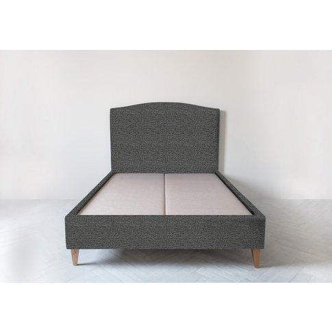 Astor 5' King Size Bed Frame In Hola Black