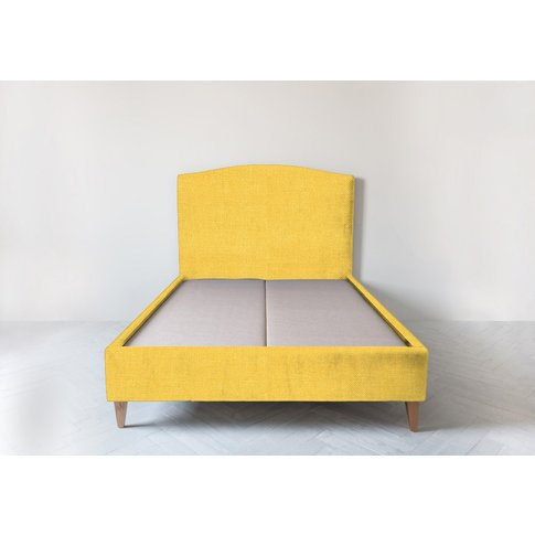 Astor 5' King Size Bed Frame In Summer Buttercup